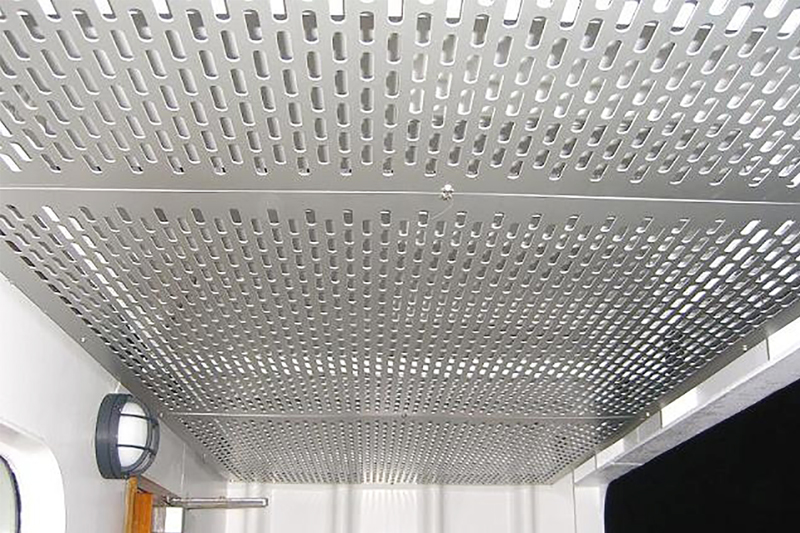 Slotted Perforated Metal Sheet Direct Metals