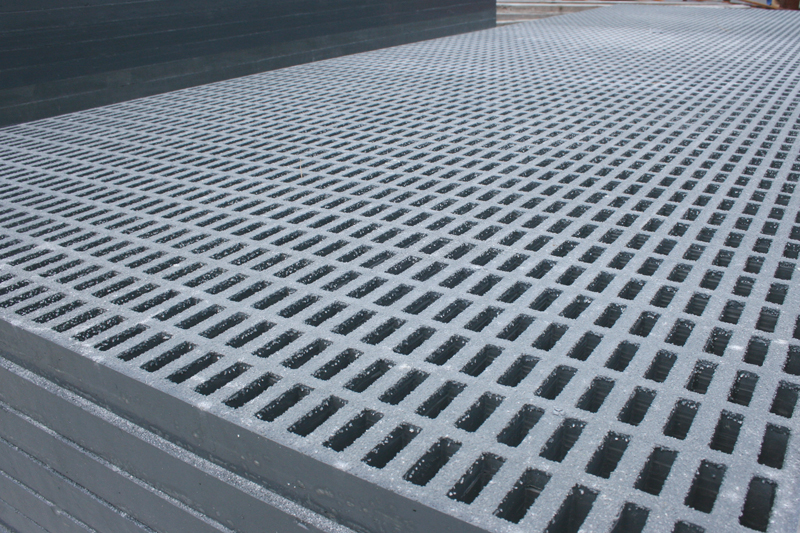 Industrial Heavy Duty Fiberglass Grating Direct Metals