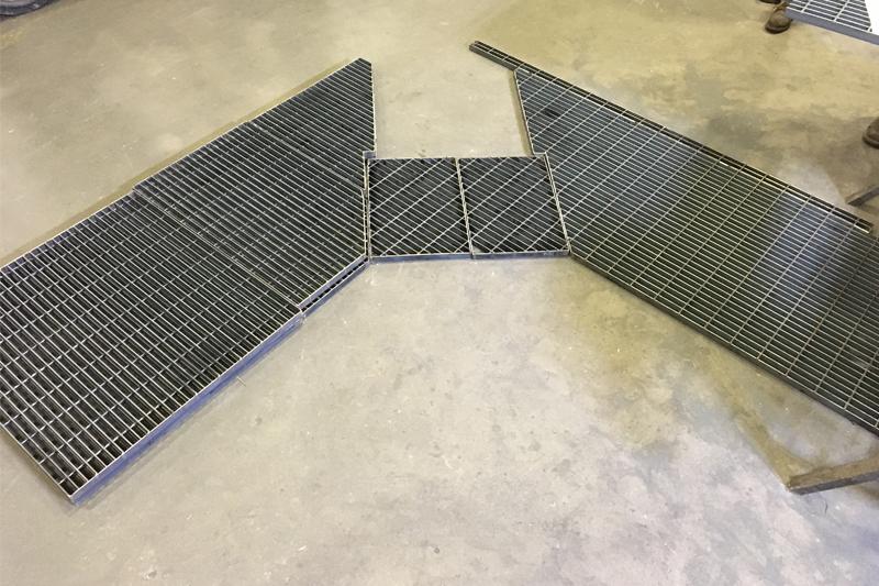Industrial Carbon Steel Bar Grating | Direct Metals