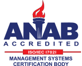 ANAB Accredited ISO/IEC 17021